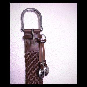 NWT! Michael Kors Genuine Leather Belt